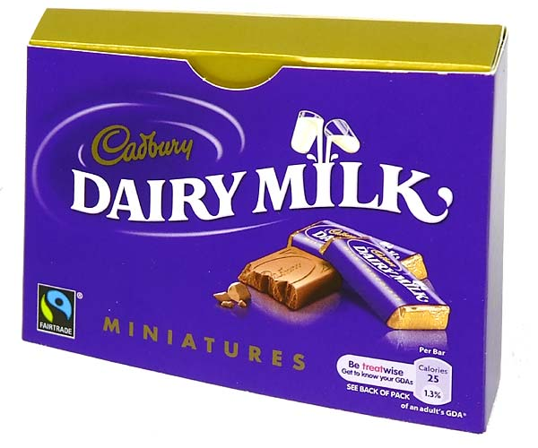 Cadbury Dairy Milk Miniatures Chocolate Gifts Delivered